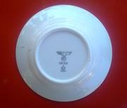 тарелка с клеймом